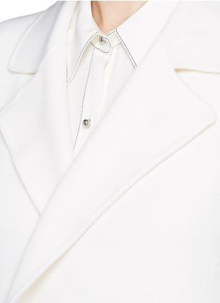 细节 - 点击放大 - THEORY - CLAIRENE羊毛混羊绒大衣