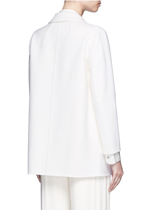 背面 - 点击放大 - THEORY - CLAIRENE羊毛混羊绒大衣