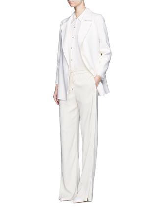 模特儿示范图 - 点击放大 - THEORY - CLAIRENE羊毛混羊绒大衣