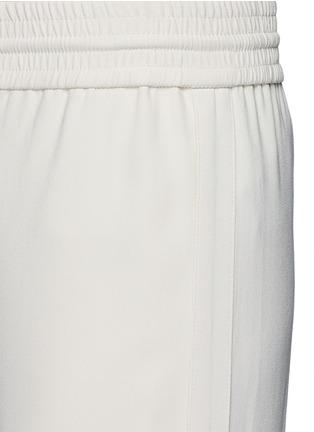 Detail View - Click To Enlarge - Theory - 'Jolinta W' elastic wide leg crepe pants