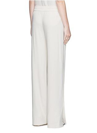 Back View - Click To Enlarge - Theory - 'Jolinta W' elastic wide leg crepe pants