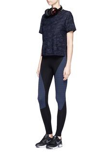 KORAL'Ringer' camouflage knit T-shirt