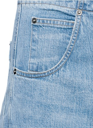 Detail View - Click To Enlarge - Rachel Comey - 'Elkin' high waist wide leg denim pants