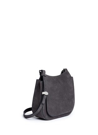 Figure View - Click To Enlarge - The Row - 'Hunting' suede shoulder flap bag
