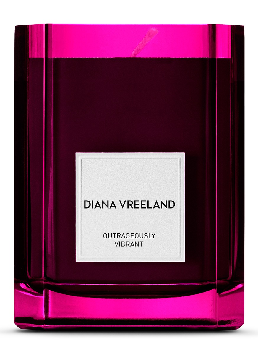 Outrageously Vibrant Candle 275g by Diana Vreeland