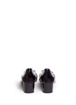 背面 - 点击放大 - MICHAEL KORS - Pauline金属扣装饰漆皮中跟鞋