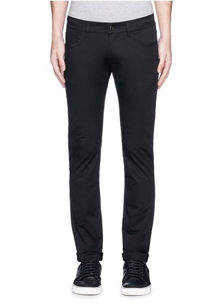 Detail View - Click To Enlarge - Dolce & Gabbana - 'Stretch 14' slim fit jeans