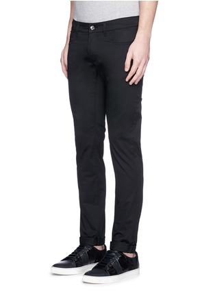 Front View - Click To Enlarge - Dolce & Gabbana - 'Stretch 14' slim fit jeans