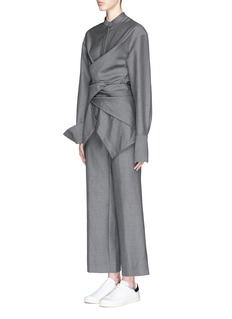 PORTS 1961 Wide leg suiting pants