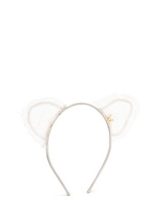 Figure View - Click To Enlarge - Maison Michel - 'Heidi' cat ear lace headband