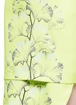 'Tillie' palm print crepe dress