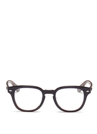 Main View - Click To Enlarge - Ray-Ban - Layered acetate optical glasses