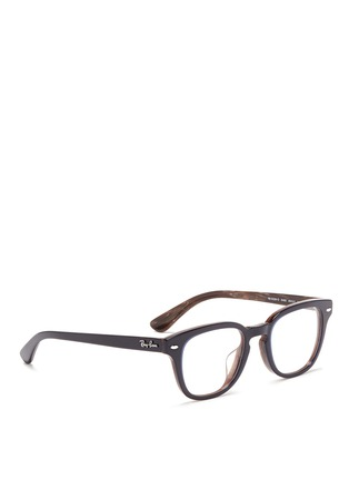 Figure View - Click To Enlarge - Ray-Ban - Layered acetate optical glasses