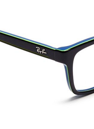 Detail View - Click To Enlarge - Ray-Ban - Square frame junior acetate optical glasses