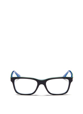 Main View - Click To Enlarge - Ray-Ban - Square frame junior acetate optical glasses