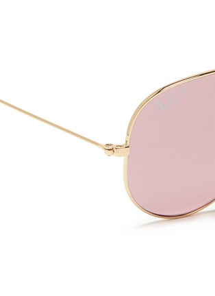 Detail View - Click To Enlarge - Ray-Ban - 'Aviator Large Metal' sunglasses