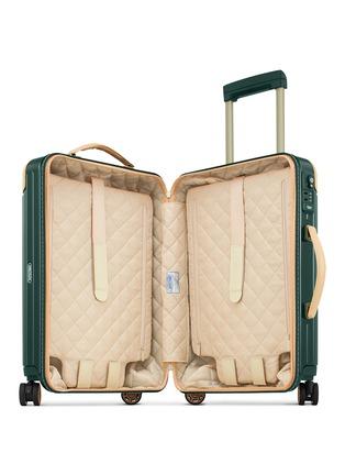 RIMOWA-Bossa Nova Cabin Multiwheel® IATA (Jet Green/Beige, 32-litre)