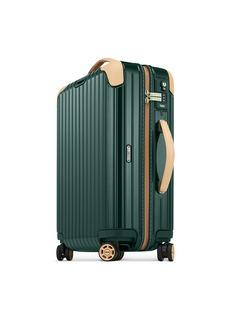 RIMOWA Bossa Nova Cabin Multiwheel® IATA (Jet Green/Beige, 32-litre)