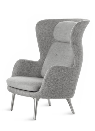 Main View - Click To Enlarge - Republic of Fritz Hansen - Ro lounge chair