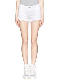 RAG & BONE/JEANMila distressed denim shorts
