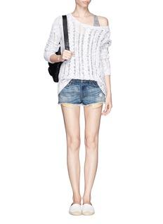 RAG & BONE/JEANMila cutoff shorts