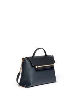 CHLOÉ'Clare' large leather shoulder bag