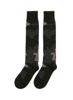 Camouflage cotton blend socks