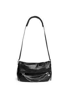 JIMMY CHOO'Biker' small chain leather bag