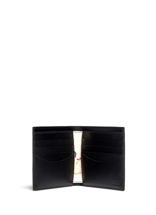 Paul Smith - 'Classic Naked Lady' print interior bi-fold leather wallet