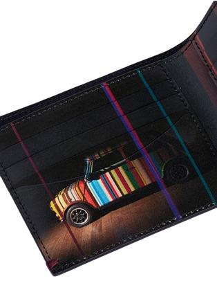 Paul Smith-'Mini Graphic Edge' print interior bi-fold wallet