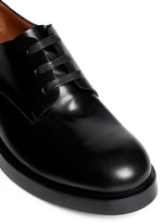 'Patton' lace-up leather Derby shoes