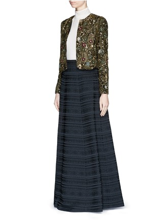 Figure View - Click To Enlarge - alice + olivia - 'Lexia' brocade ball gown skirt