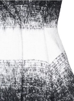 Detail View - Click To Enlarge - alice + olivia - 'Therese' wool-mohair blend midi A-line coat