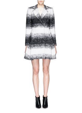 Main View - Click To Enlarge - alice + olivia - 'Therese' wool-mohair blend midi A-line coat