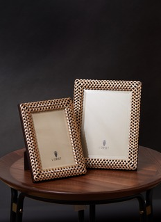 L'Objet Braid 4R photo frame