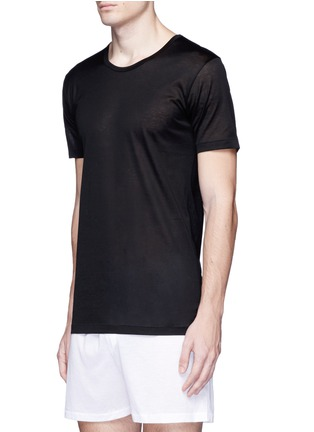 Front View - Click To Enlarge - Zimmerli - '252 Royal Classic' cotton undershirt