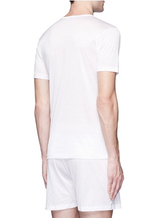 Back View - Click To Enlarge - Zimmerli - '252 Royal Classic' cotton undershirt