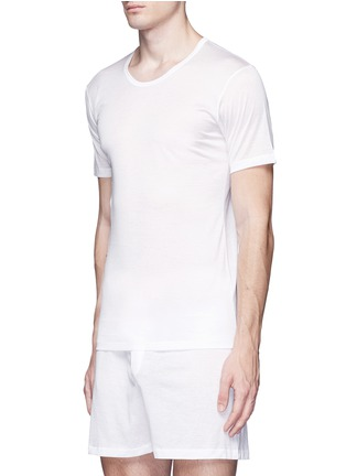 Figure View - Click To Enlarge - Zimmerli - '252 Royal Classic' cotton undershirt