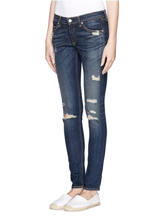 Front View - Click To Enlarge - rag & bone/JEAN - Ripped skinny jeans