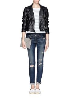 RAG & BONE/JEANRipped skinny jeans