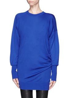 ALEXANDER WANG Asymmetric knitted sweater