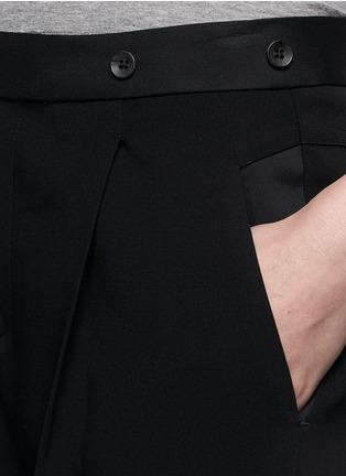 Detail View - Click To Enlarge - rag & bone - 'Park' pleat crepe pants