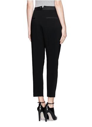 Back View - Click To Enlarge - rag & bone - 'Park' pleat crepe pants