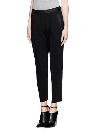 Front View - Click To Enlarge - rag & bone - 'Park' pleat crepe pants