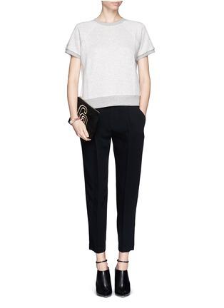Figure View - Click To Enlarge - rag & bone - 'Park' pleat crepe pants