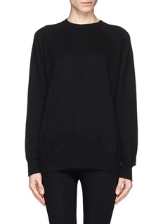 ALEXANDER WANG  Sheer back sweater