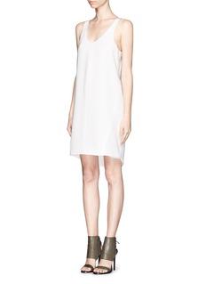 RAG & BONE'Chieftan' sleeveless shift dress