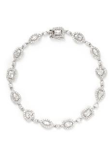CZ BY KENNETH JAY LANEMulti cut cubic zirconia bracelet