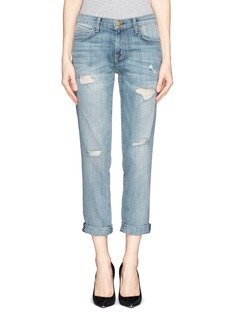 CURRENT/ELLIOTT 'The Fling' distressed boyfriend jeans