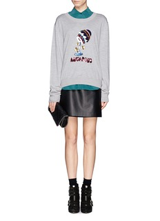 MARKUS LUPFER 'Aquarius' sequin sweater